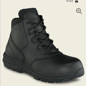 Womens Steel Toe work safety Boot size 8